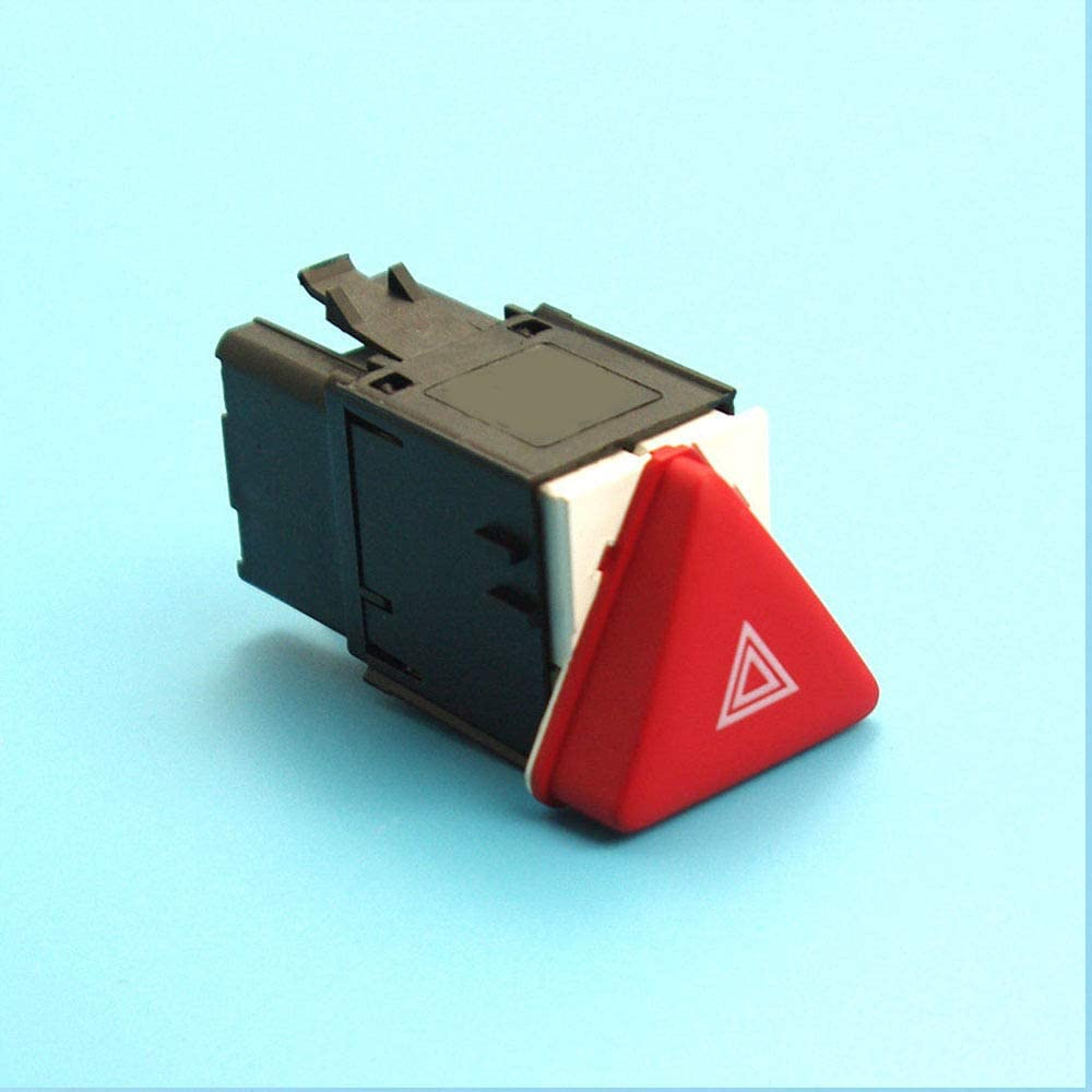 Auto Spare Parts Red Hazard Warning Emergency Switch for VW Golf