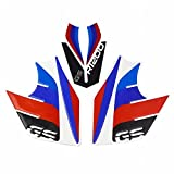 Lorababer Motorcycle Motorbike Waterproof Tank Side Pad Decal Sticker Emblem Set for 2013-2019 BMW R1200GS R 1200 GS R 1200GS 2014 2015 2016 2017 2018
