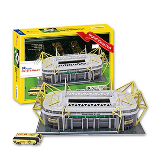 Signal Iduna Park, Estadio de construcción del Borussia Dortmund 3D Puzzle Los Aficionados Asamblea Modelo de Recogida de Recuerdos