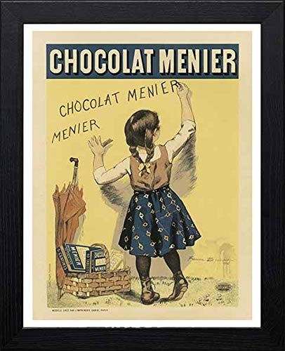 L Lumartos Vintage Poster MAF047 Chocolade Menier Firmin Bouisset Hedendaagse Home Decor Wall Art Print