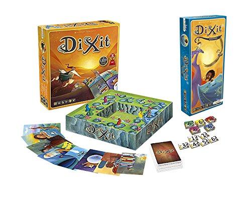 Outletdelocio. Pack Juego de Mesa Dixit Clasico + Expansion Dixit 3: Journey....