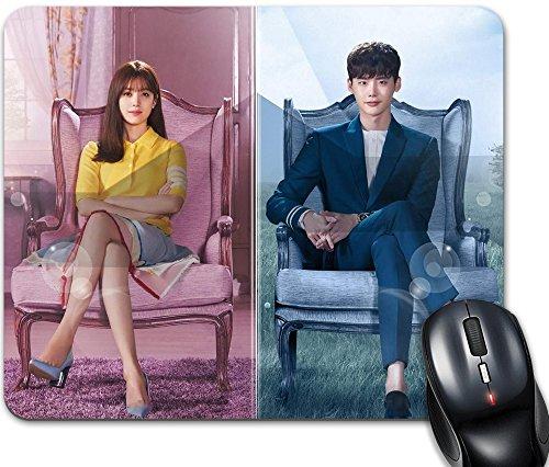 PTP–Alfombra de ratón k-drama W: Two Worlds
