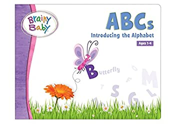 Brainy Baby ABCs Board Book  Introducing the Alphabet Deluxe Edition