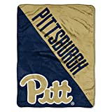 The Northwest Company Pittsburgh Panthers 'Halftone' Micro Raschel Throw Blanket, 46' x 60' , Blue