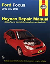 Ford Focus 2000 thru 2007 (Haynes Repair Manual)