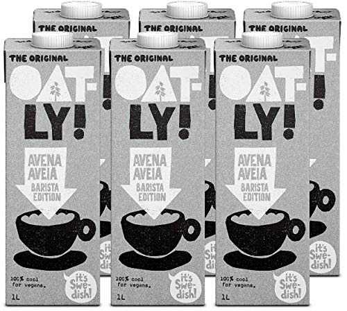 Oatly - Boisson d'Avoine Barista Edition - Paquet de 6 (6 x 1 litre)