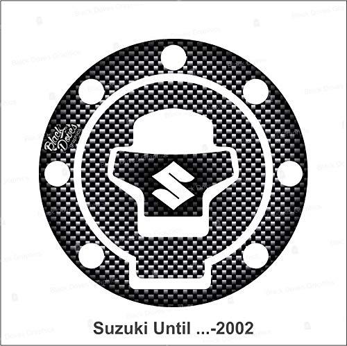 Protector adhesivo para depósito de resina compatible con Suzuki hasta 2002 incluido y VStrom hasta 2011