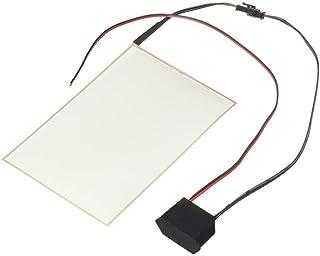 Carrfan A6 EL Panel Hoja de Luz Cortable Electroluminiscente Hoja de Neón con Actuador de 12V