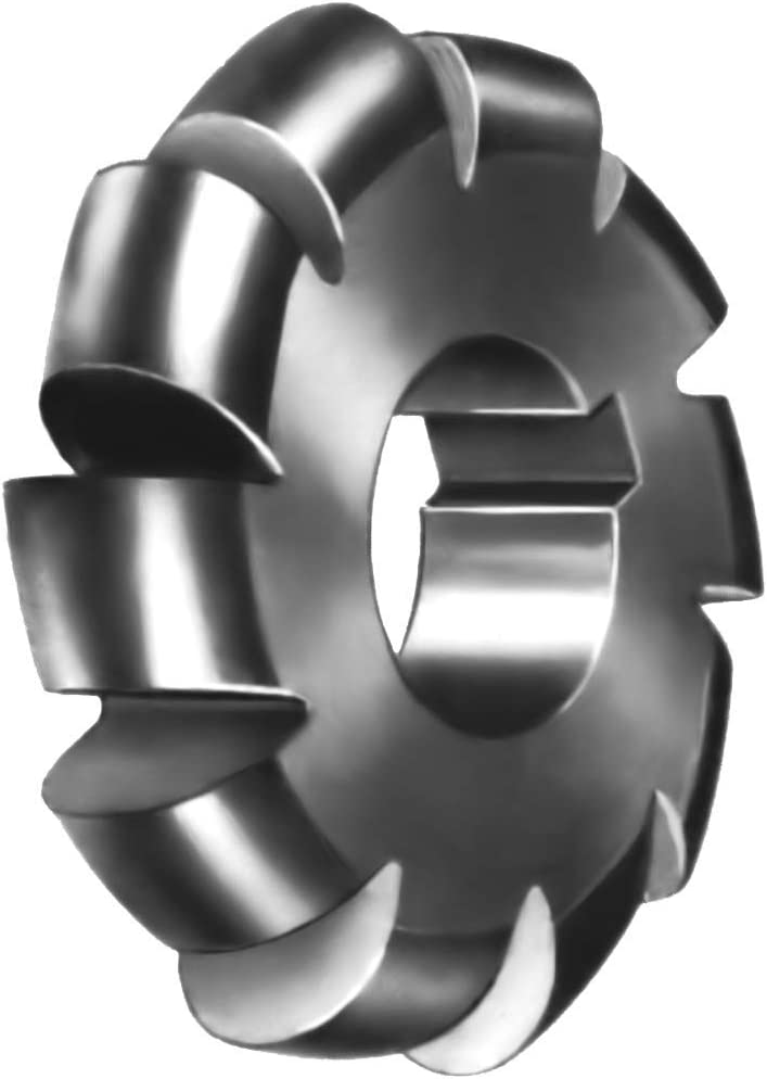High Speed Steel Convex Max 81% OFF Cutter - 0.50 San Jose Mall of Circle x Dia 1 Dia. 4