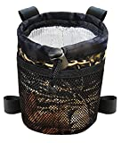 Chuanke Cover 4-Straps Camo Pattern Bicycle Water Holder Bag,with Mesh Pocket,Internal Aluminum Foil Insulation Material for Mountain,Road Bikes,Folding,Fixed Gear,Cruiser.