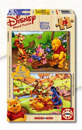 Educa Borrás Winnie The Pooh Puzzle 2x16