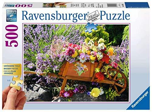 Blumenarrangement Gold Edition. 500 Teile Puzzle