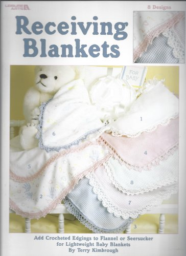 Receiving blankets: 8 designs
