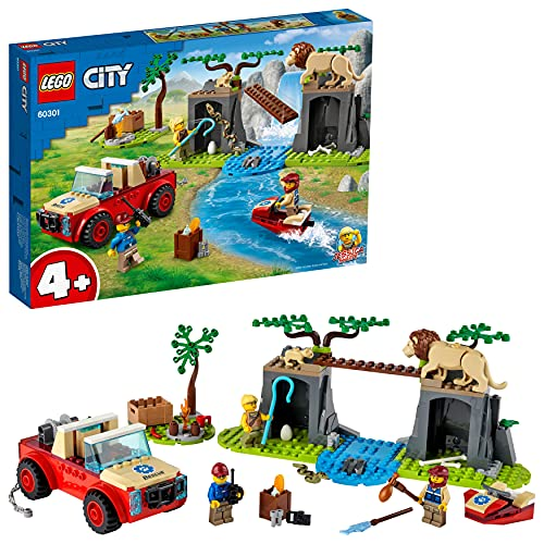 レゴ(LEGO) シティ どうぶつレスキュー オフローダー 60301