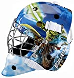 Bauer 1042664 Nme Start Wars-Casco para Hockey sobre Calle, diseño de Yoda, Unisex Adulto, Multicolor, Medium