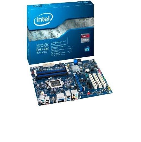 Intel Media Series DH77KC Sockel 1155 Mainboard (ATX, Intel H77, 4X DDR3, 2X SATA III, 2X USB 3.0) Box
