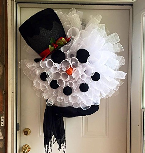 Snowman Wreath New color Genuine Holiday Winter