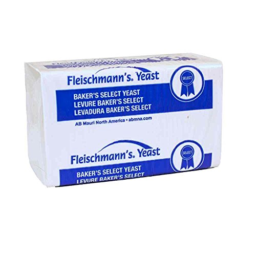 Fleischmanns Compressed Fresh Yeast, 1 Pound -- 24 per case.