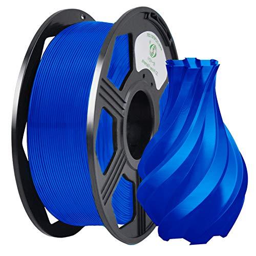 YOYI Filamento PLA 1.75mm, Filamento Stampante 3D PLA Plus 1kg Spool, Tolleranza del diametro +/- 0.02 mm(Blu)