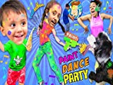 Paint Dance Party! FUNnel Vision Dancing 2R Music Video Songs