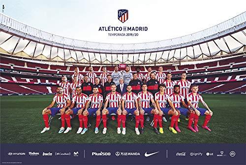 Erik Poster Atletico Madrid 2019/2020, 91 x 61 cm