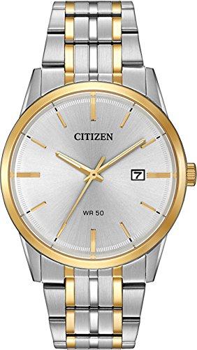 Citizen BI5004-51A Two Tone Stainless Steel Silver Dial Men's Watch