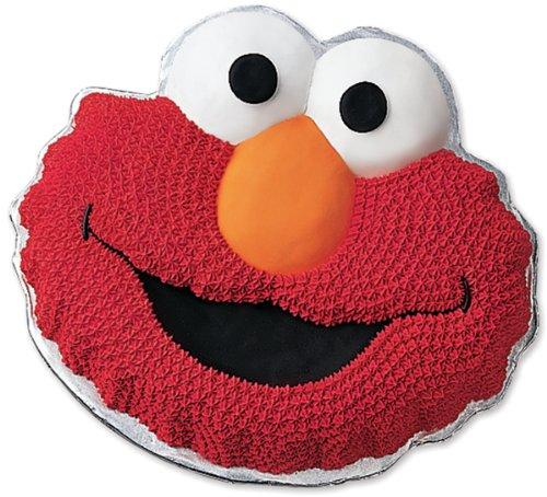 Novelty Cake Pan-Elmo 13.5''X10.5''X2'' Novelty Cake Pan-Elmo 13.5''X10.5''X2''