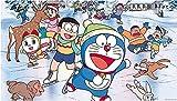 Anime Doraemon,Jigsaw Puzzle 1000 Piezas,Madera Niños Juguetes Juego De Descompresión.A557M(75X50CM)