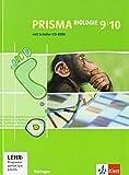 PRISMA Biologie 9/10. Ausgabe Thüringen: Schülerbuch mit Schüler-CD-ROM Klasse 9/10 (PRISMA Biologie. Ausgabe ab 2005)
