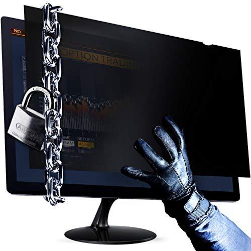 VINTEZ 21.5 Inch Computer Privacy Screen Filter - Anti-Scratch - Anti-Glare Protector for Widescreen Monitors - 16:9 Aspect Ratio