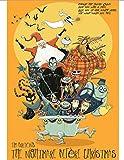 Cartel De Lienzo 2019 Carteles De Películas De Tim Burton Vintage Retro Papel Revestido Mate Cartel Antiguo Decoración del Hogar (Sin Marco)