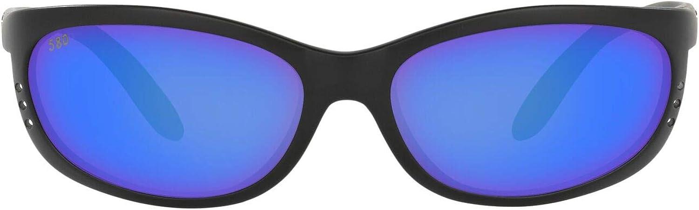 Costa Del Max 68% OFF Mar Men's Fathom A surprise price is realized Oval Sunglasses