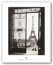 The Eiffel Tower from the Trocadero by Sally Gall 16