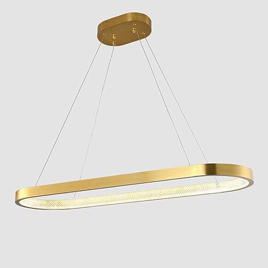 Grote Eettafel Hanglamp Led Dimbaar Afstandsbediening Ring Hanglamp Conferentietafel Kantoor Lampen Gouden Eetkamer Moderne Plafondlamp Lengte 120 Cm Amazon Nl