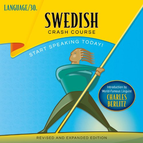 Swedish Crash Course audiobook cover art