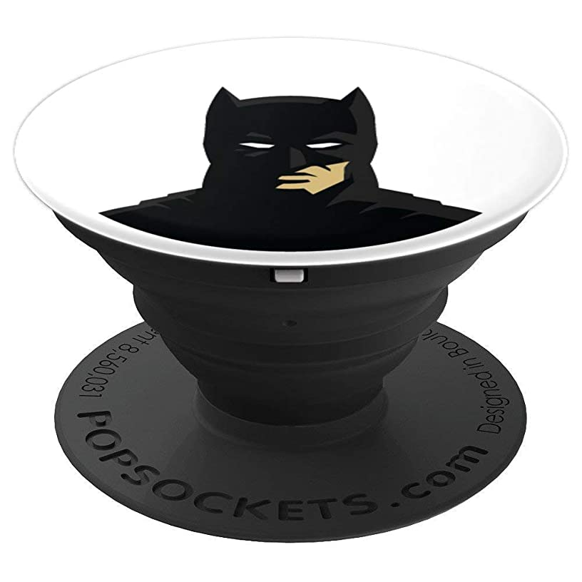 Minimal Batman-inspired Silhouette - PopSockets Grip and Stand for Phones and Tablets