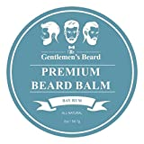 The Gentlemen's Premium Bay Rum Beard Balm - Leave-in Conditioner &...