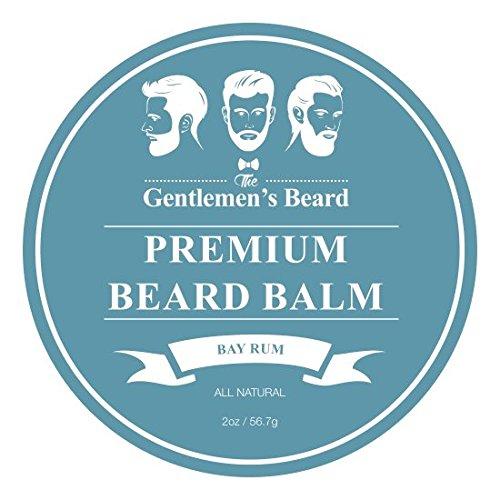Bild des Produktes 'The Gentlemen's Beard Premium Bay Rum Bartbalsam – 60 ml – Bändigen Sie Ihren Bart Ohne Fettigkeit – Für Ein Dichteres Und Volleres Aussehen'