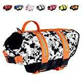 Paws Aboard Dog Life Jacket, Neoprene Dog Life Vest for Swimming and...