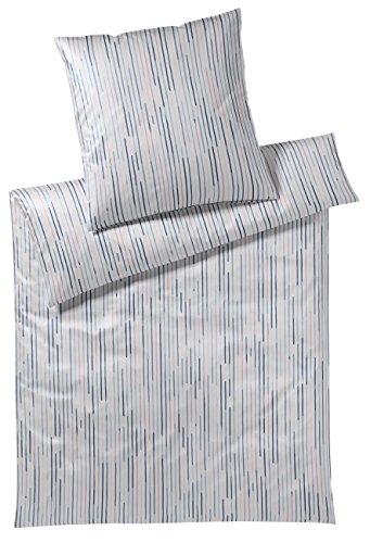 elegante Mako Jersey Bettwäsche 3484-001-135x200 80x80Peach