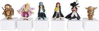 CoolChange Set de Figuras de One Piece con 2 Bustos y 4 Figuras pequenas de Shanks, Edward Newgate etc.