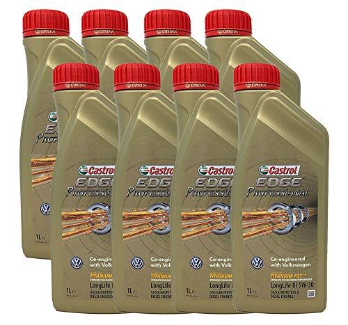 Castrol Edge Professional Longlife III 5W-30 8 x 1 Liter