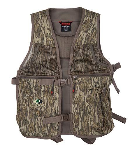 Mossy Oak Youth Longbeard Turkey Hunting Vest, Turkey Vest for Hunting with Seat