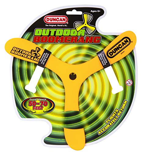 Duncan Toys Outdoor Booma Toy, Sports Boomerang Varying Colors