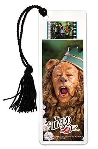 FilmCells Wizard of Oz (Cowardly Lion) Bookmark with Tassel and Real 35mm Film Clip