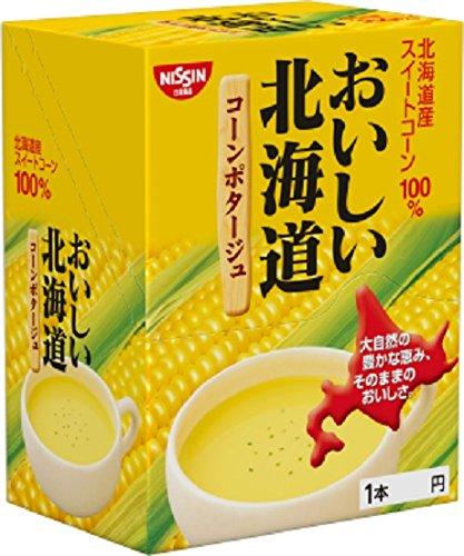 日清食品おいしい北海道コーンポタージュ16g×24個