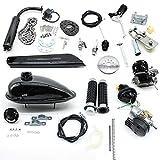 Kit de motor de bicicleta de 80 cc – Kit de motor de gasolina de 2 tiempos, kit de conversión de bicicletas eléctricas con herramientas para bicicletas de montaña, carreras, cruiser, motor helicóptero