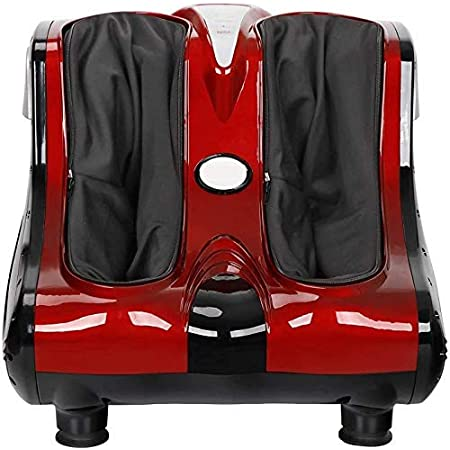 Electric Foot Calf Leg Massager Shiatsu Kneading Rolling Spa Massager Machine with Adjustable Tilt Base
