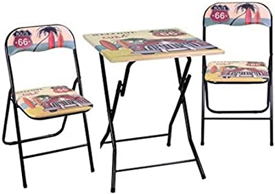 Vacchetti Giuseppe 6451730000 Table, Métal, Noir, Grande