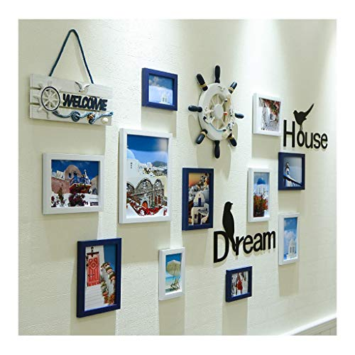 Xiao Jian- Nordic StylePhoto Frame WallAnd Family Wall Gallery KitLarge Multi-fotolijst Frame Muur Mount 11 Stuks Fotowand